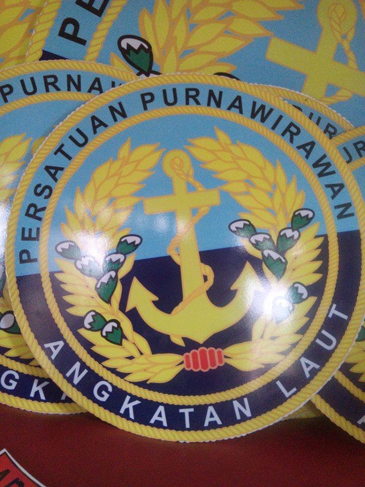 Logo acrylic, PUR Angkatan Laut